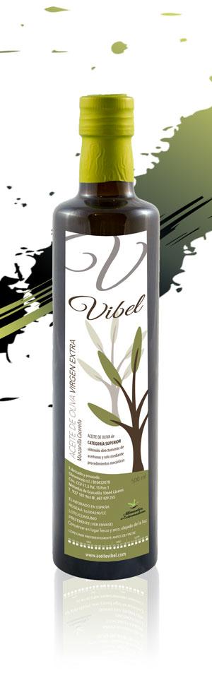 Aceite de Oliva Vibel 500 ml